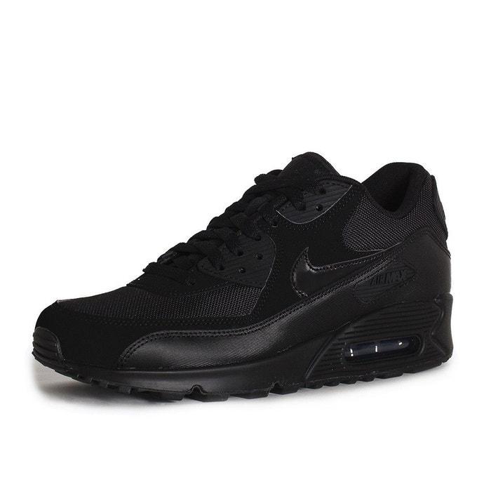 Baskets air max 90 essential noir Nike | La Redoute