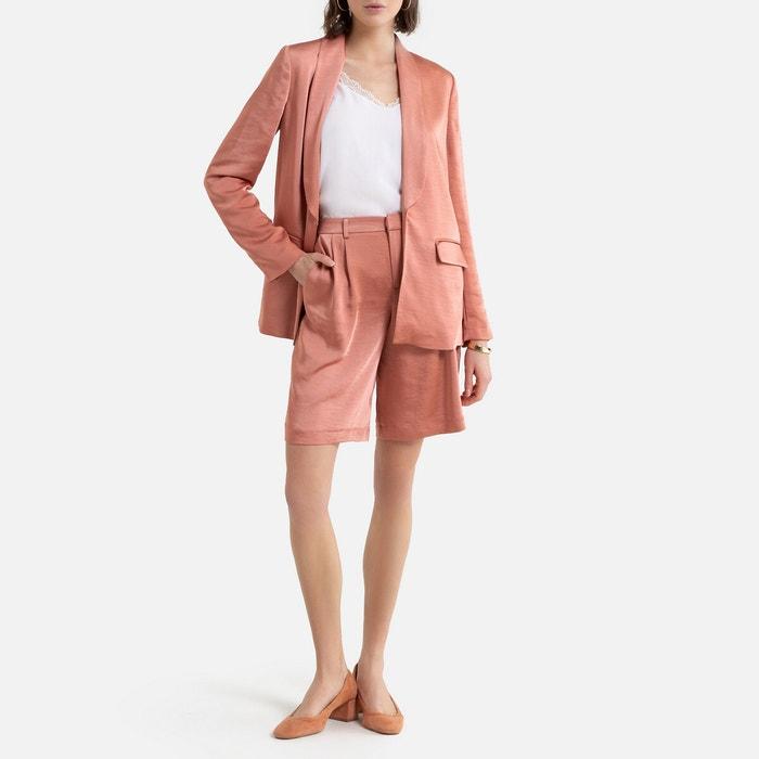 Verwonderend Satin blazer dusty pink La Redoute Collections | La Redoute GK-14