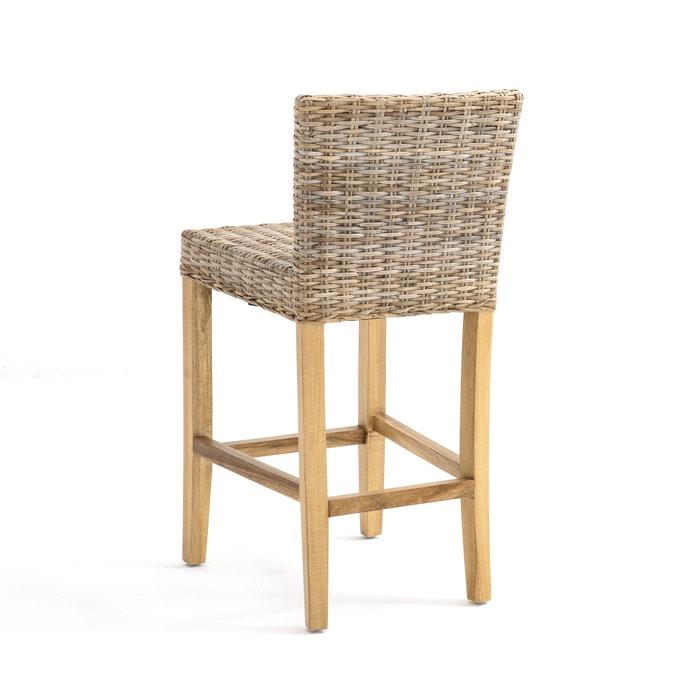 Inqaluit Rattan Mid Height Bar Chair