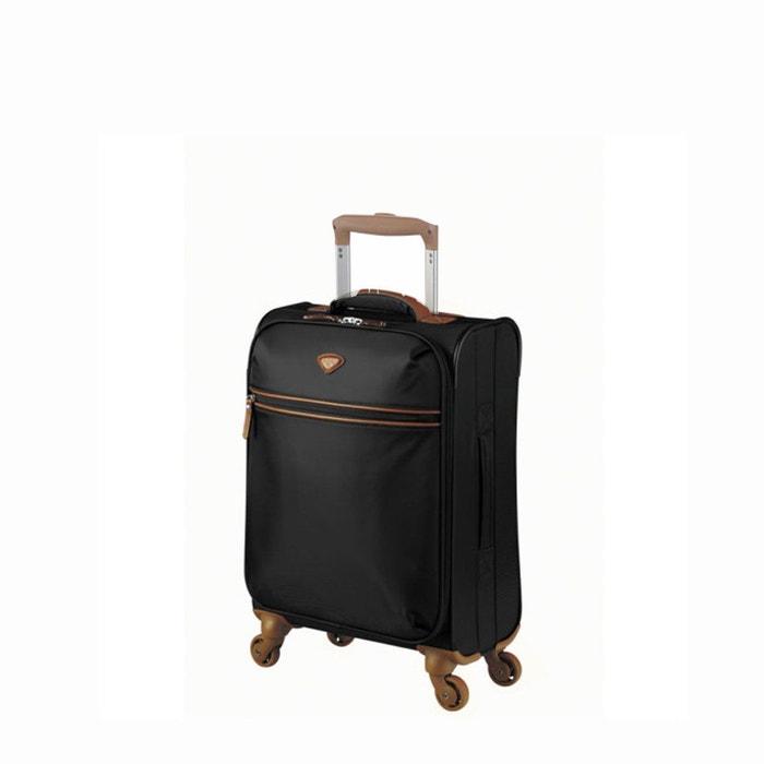 info pour 29b14 5461d Valise cabine souple v015373>cuir nice noir Jump | La Redoute