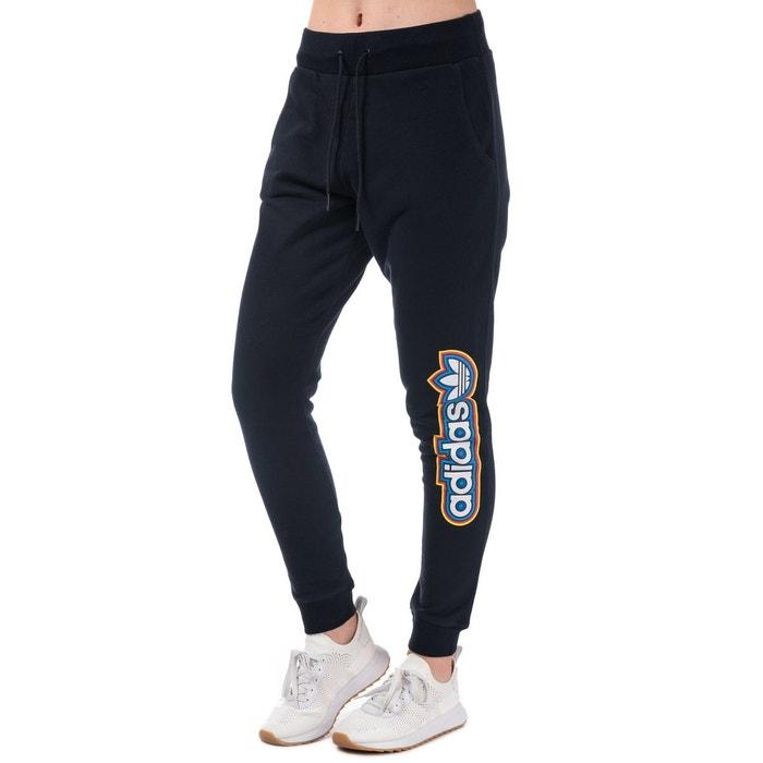 Pantalon de survêtement baggy bleu marine Adidas Originals