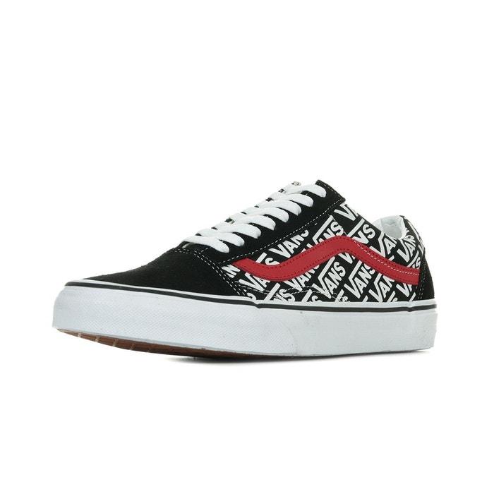 NEUF VANS OLD Skool Chaussures de Skate Rouge Blanc EUR 80