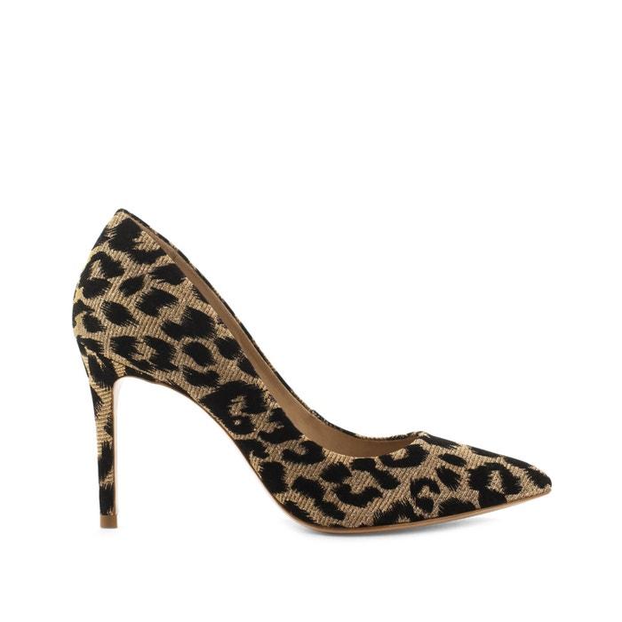 leopard print stiletto heels