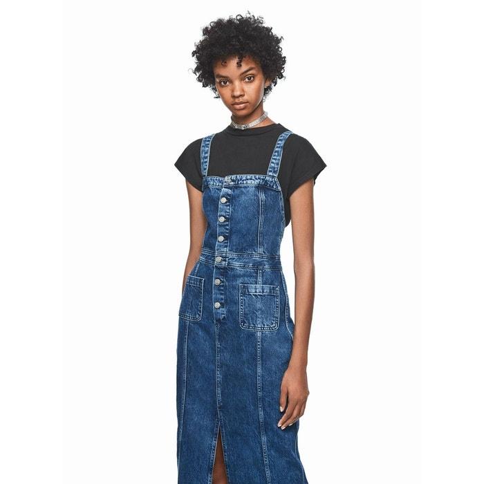 Dua Lipa X Pepe Jeans Robe Longue En Jean Denim Pepe Jeans La Redoute