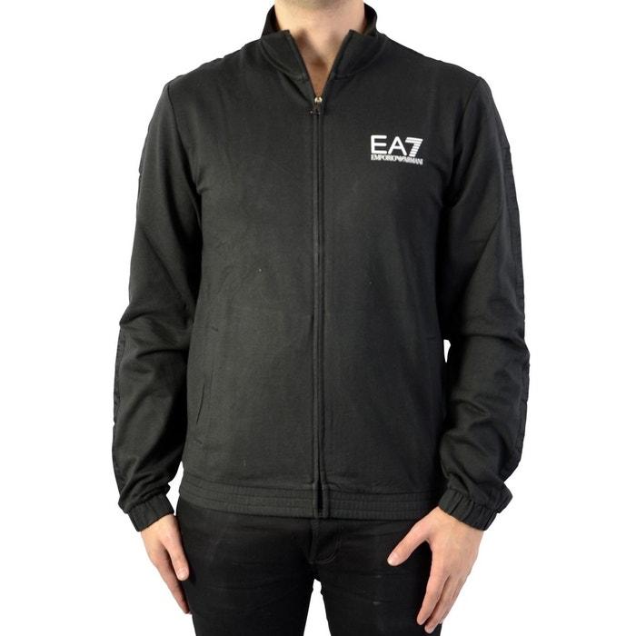 Sweat zippé ea7 sweatshirt black Emporio