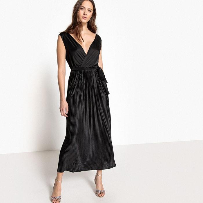 Très Classe Vert Robe Longue Guess 85%Polyester 15%Coton