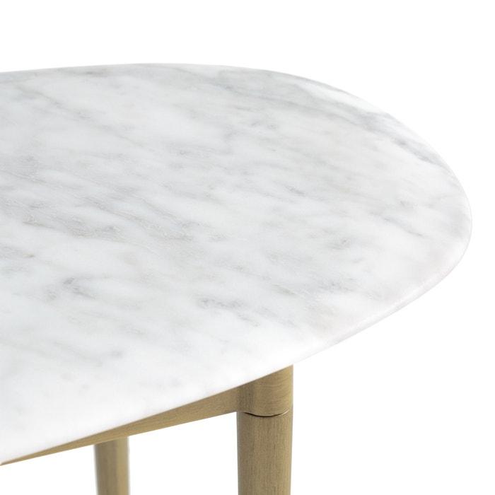 modadelong Am rectangulaire blanc basse Table petit marbre E9YbDH2IeW