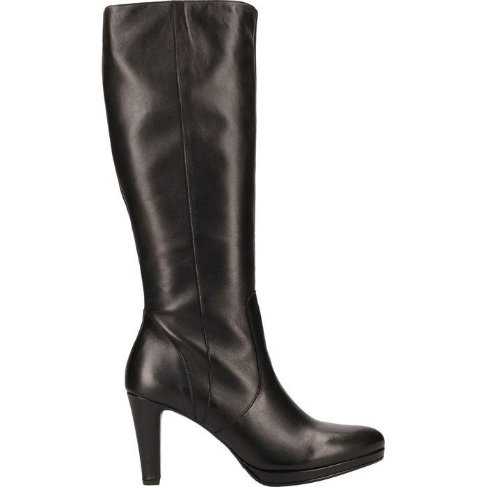 Bottes cuir noir Gabor | La Redoute