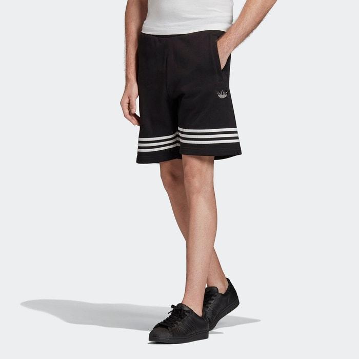 Short outline noir Adidas Originals | La Redoute