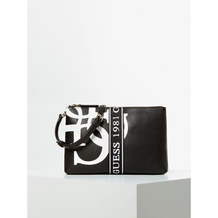 Sac à bandoulière michy maxi logo noir multi Guess | La Redoute