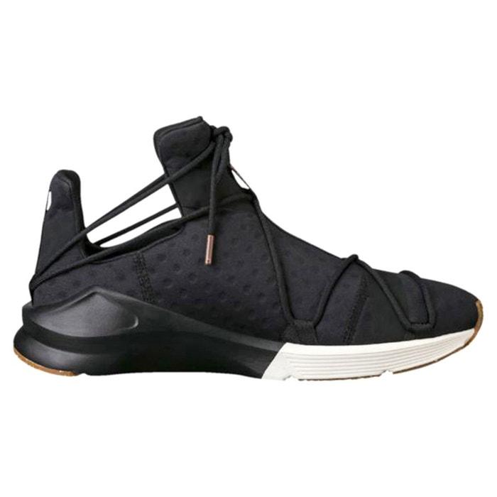 Puma Fierce Black Black Black White , Baskets Puma