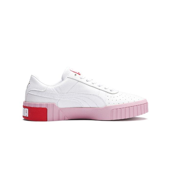 Cali fashion trainers , white/pink