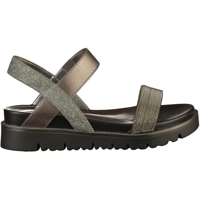 Sandales imitation cuirtextile argenté S.Oliver | La Redoute