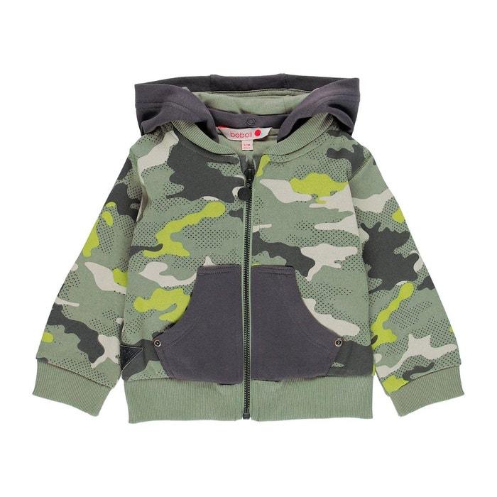 Veste En Molleton Camouflage Garçon