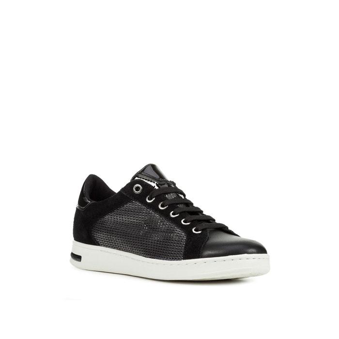 Ademende sneakers jaysen metaalzwart Geox | La Redoute