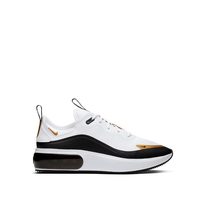 Baskets air max dia blanc/or Nike   La Redoute