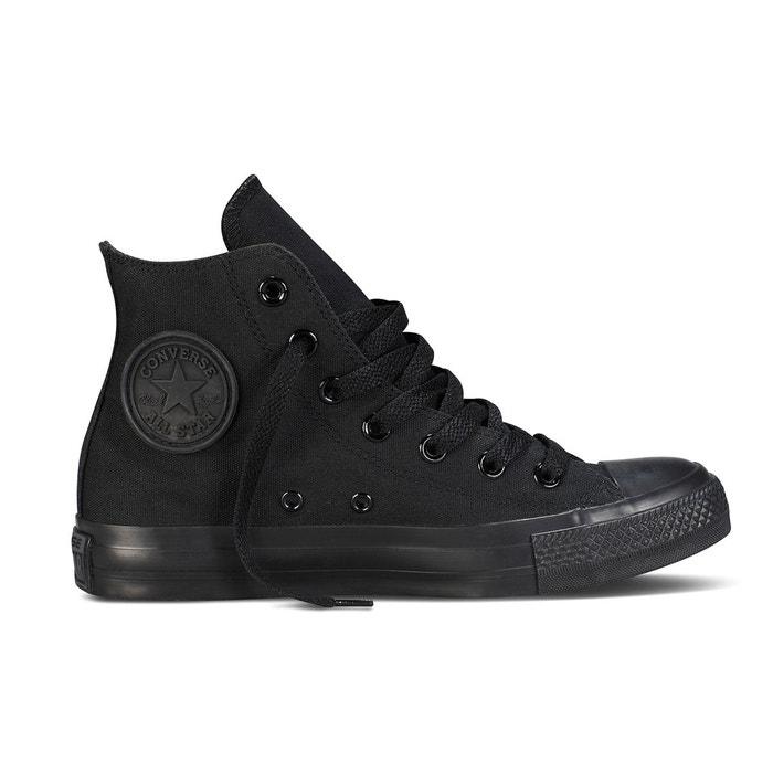 Chuck taylor all star mono canvas hi noir Converse | La Redoute