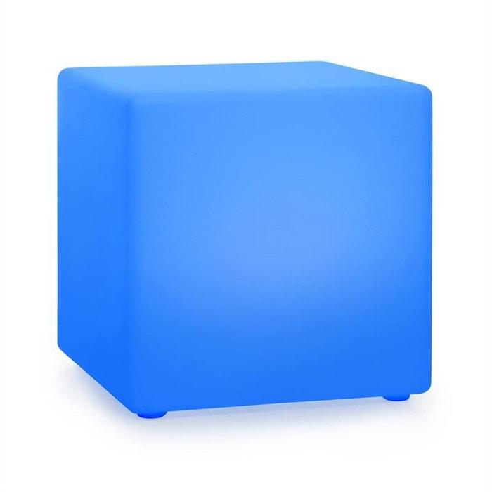 Cube lumineux / eclairage led de jardin shinecube xl ...