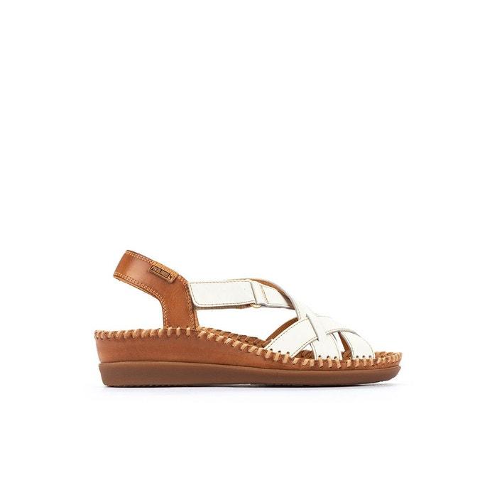Sandales compensées en cuir cadaques w8k Pikolinos | La Redoute