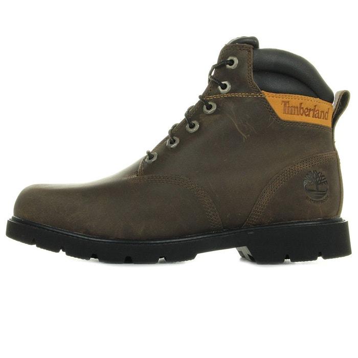 Boots waterproof marron lace TimberlandLa boot leavitt lFcTJK1