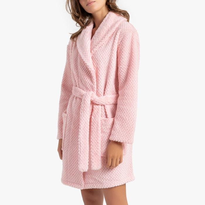 100% autentico 780fc 88342 Vestaglia collo a scialle in pile rosa La Redoute ...