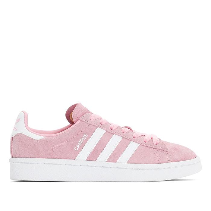 Sapatilhas em pele, campus rosa Adidas Originals | La Redoute