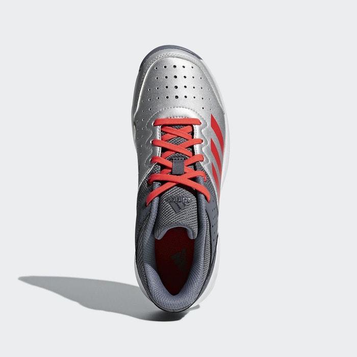 Chaussure court stabil jr gris Adidas Performance   La Redoute