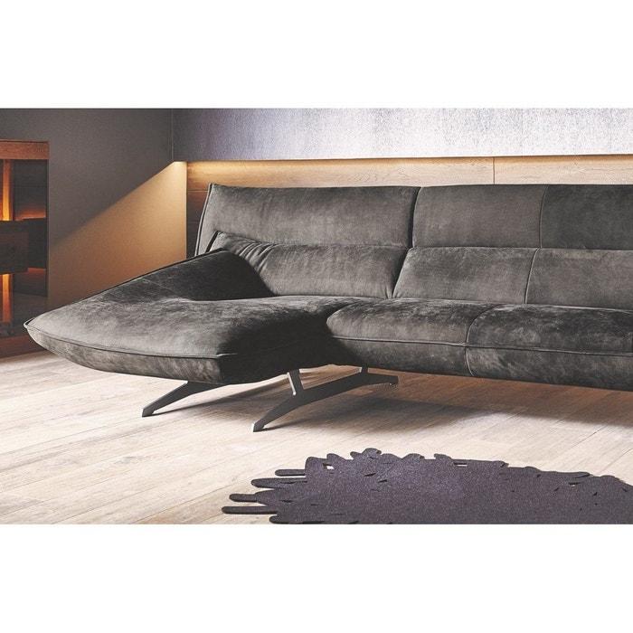 meilleur authentique 376f9 26fcf Am marvel canapé angle chaise longue nubuck daim marron ...