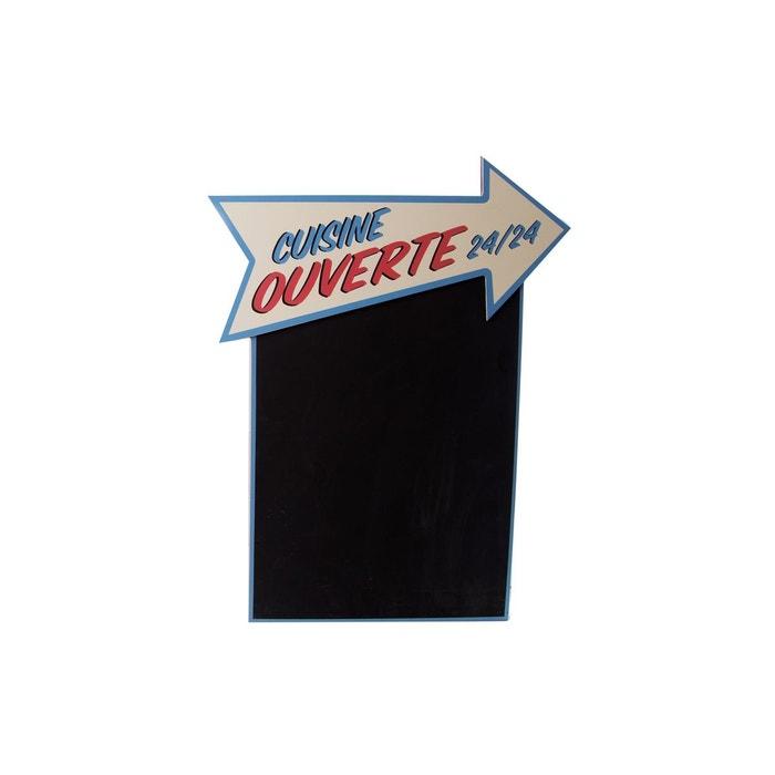 Tableau Memo Ardoise Vintage 37 X 48 Cm Cuisine Ouverte Noir