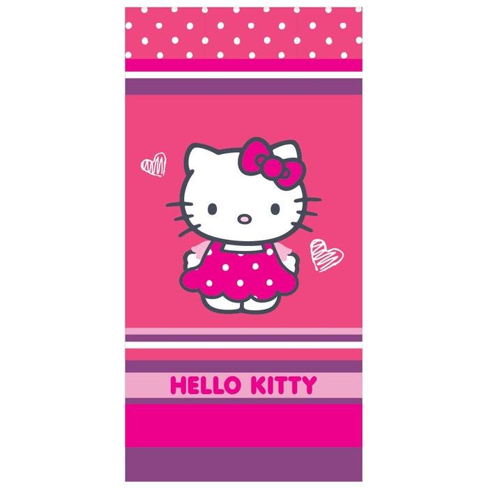 Serviette de bain Hello Kitty