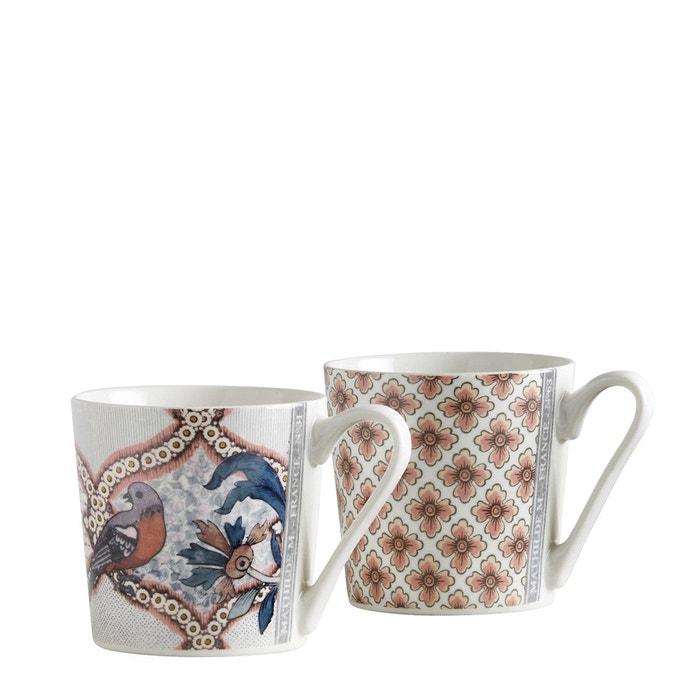 Set tasses à café Madame de Pompadour Mathilde M
