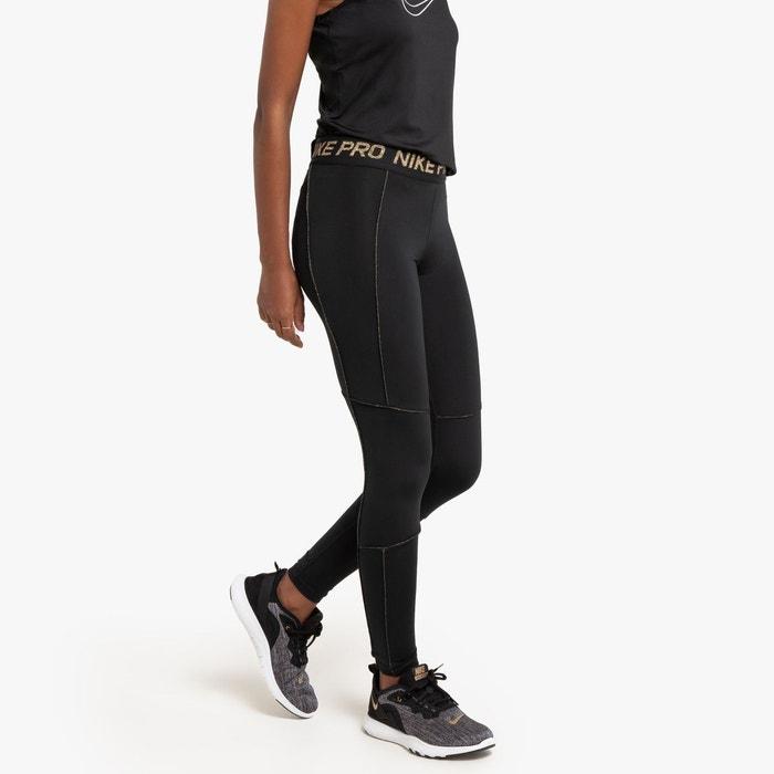 Legging nike pro fierce longueur 78 noir Nike | La Redoute