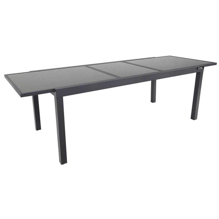Table de jardin extensible Aluminium \