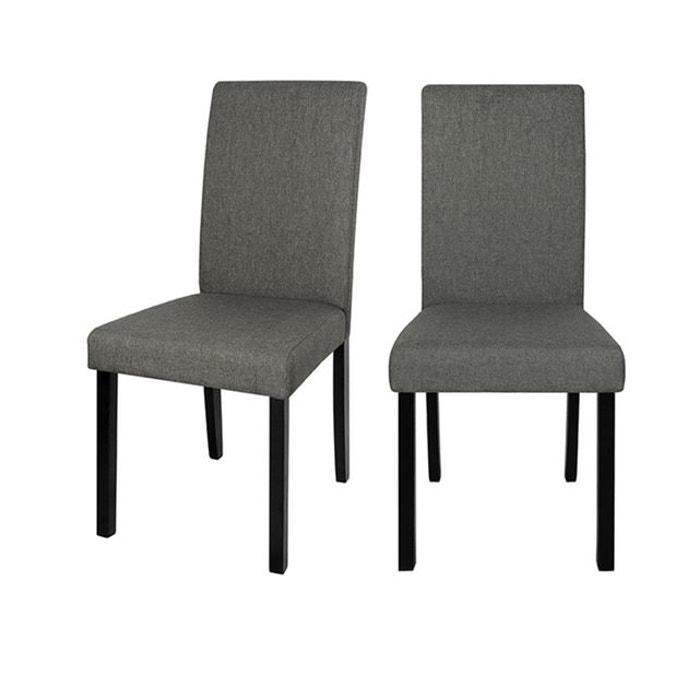 Chaise havane (lot de 2) gris Rendez Vous Deco | La Redoute