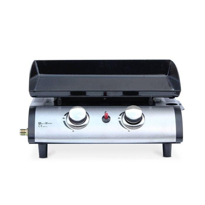 Plancha Au Gaz Porthos 2 Bruleurs 5 Kw Barbecue Cuisine