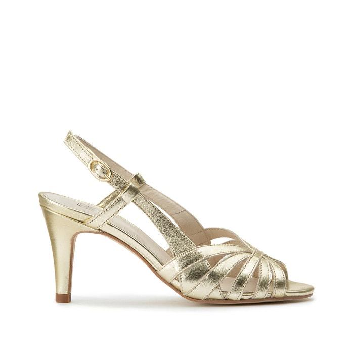 Sandália Metalizada Le Mulher Dourada Le Mulher