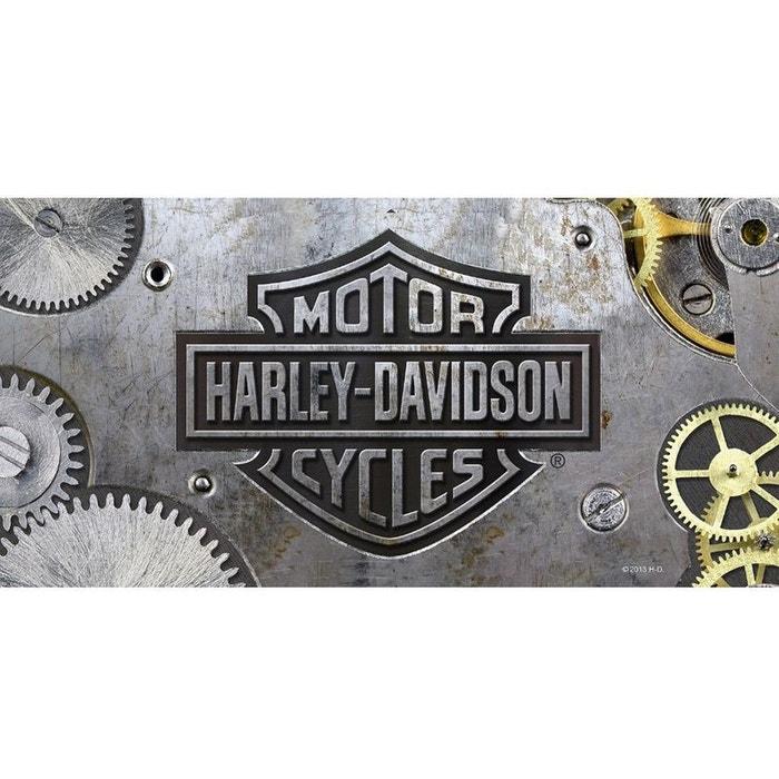 Serviette De Plage Harley Davidson.Drap De Bain Harley Davidson