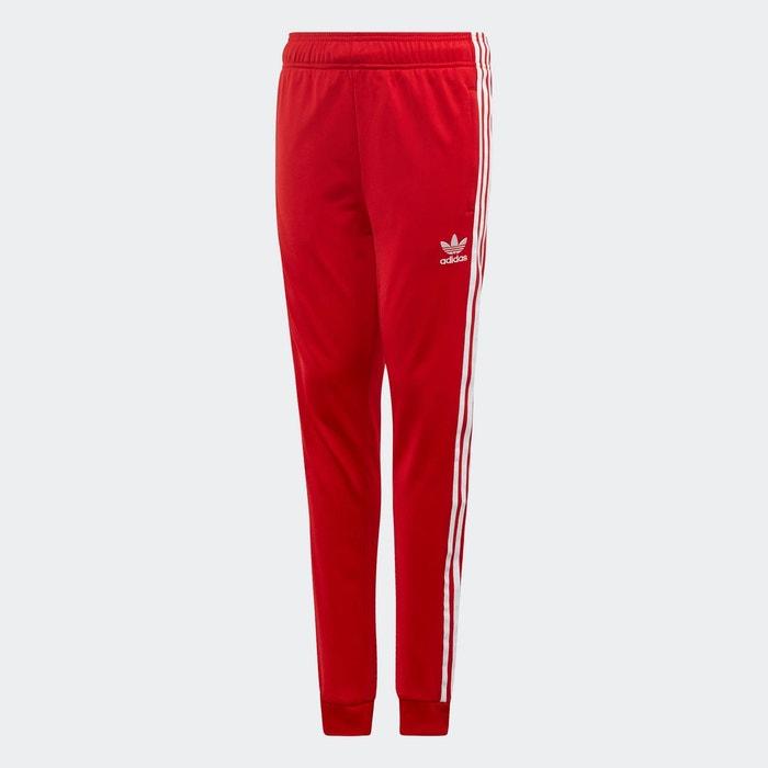 Pantalon de survêtement sst rouge Adidas Originals   La Redoute