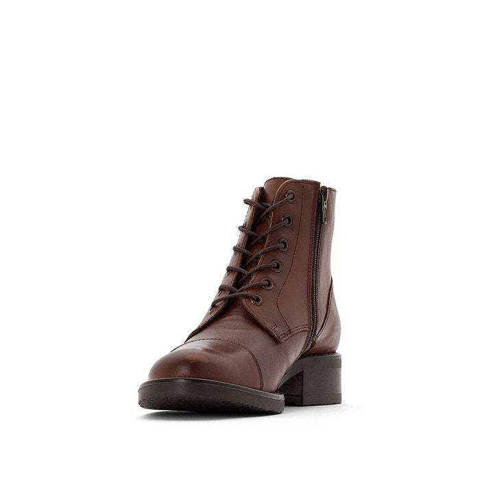 Boots cuir tess cognac Jonak | La Redoute