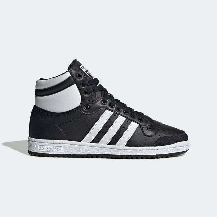 Baskets top ten hi noir Adidas Originals   La Redoute