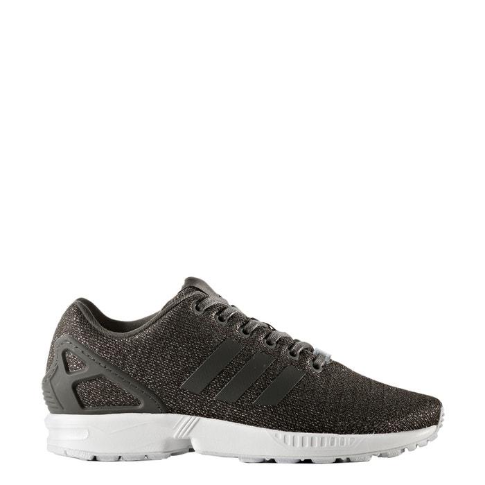 online retailer 70fb0 c53ae Zx flux w trainers , khaki print, Adidas Originals | La Redoute
