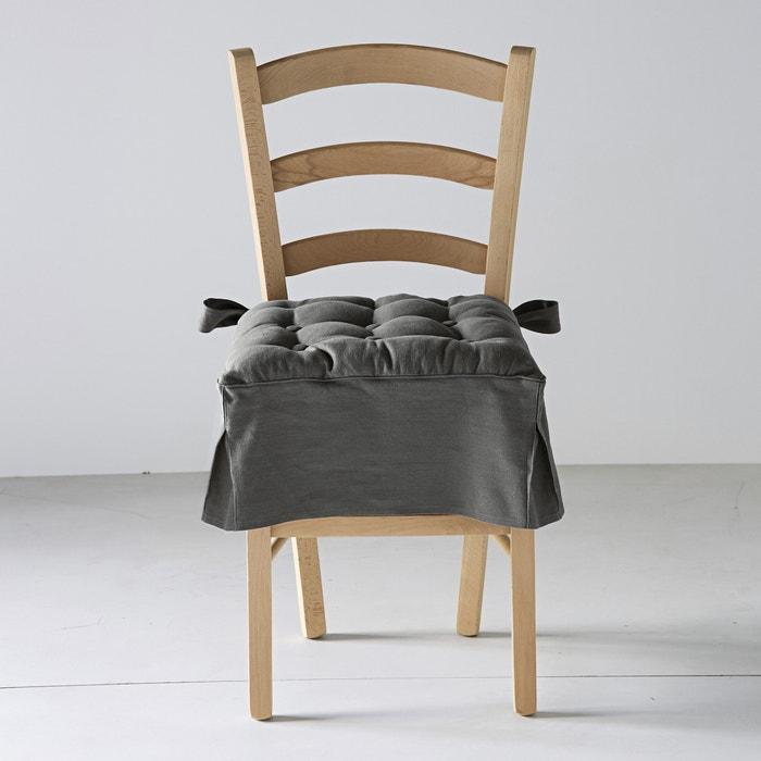 Cuscino per sedia misto linocotone jimi La Redoute