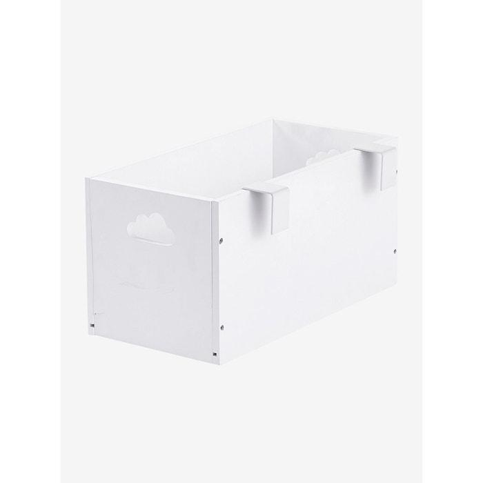 Boite De Rangement Speciale Table A Langer Blanc Vertbaudet La Redoute
