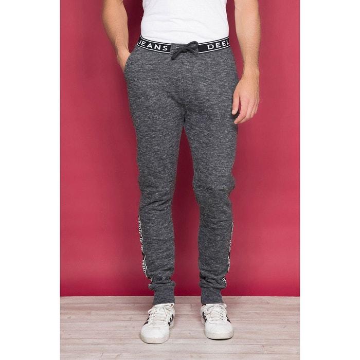 Skechers Pantalon de jogging Taylor Rib Panel Fleece Charbon