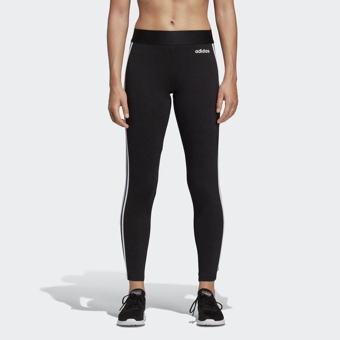 Legging core 3-stripes noir Adidas Performance | La Redoute