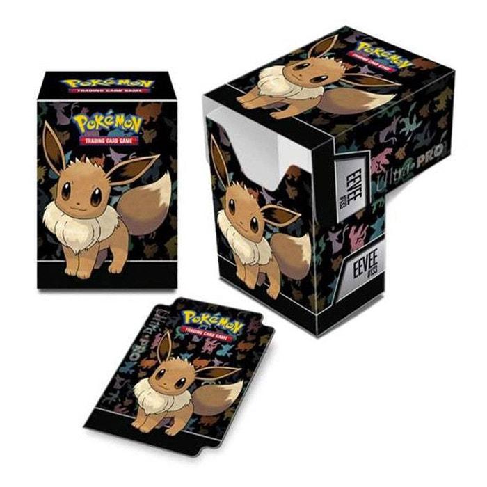 Pokemon collection en bois Boîte de rangement