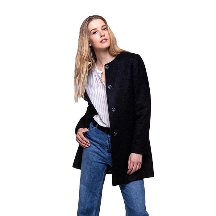 Manteau sans col | La Redoute