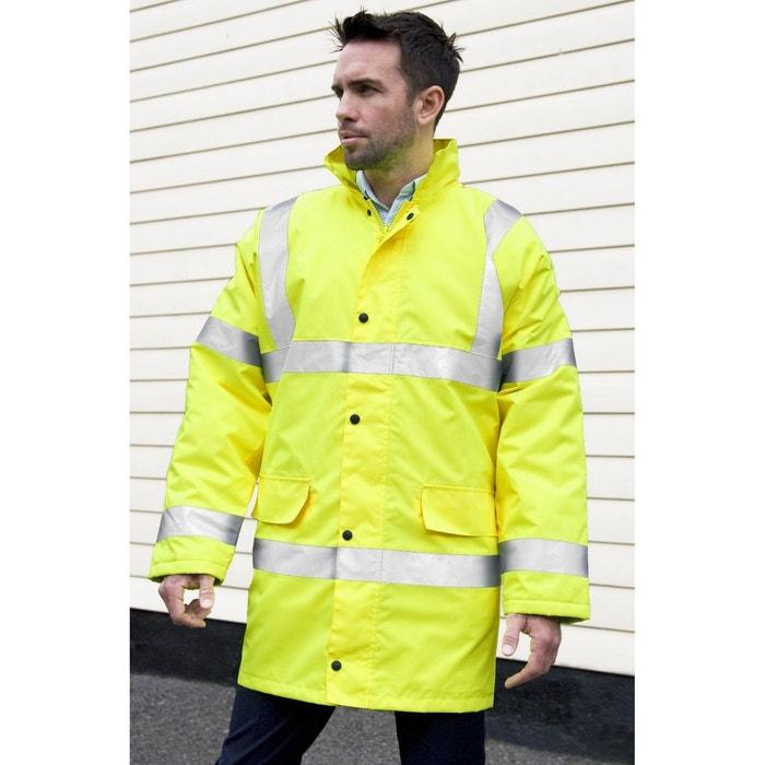 économiser 1687d a45b0 Manteau de sécurité haute visibilité