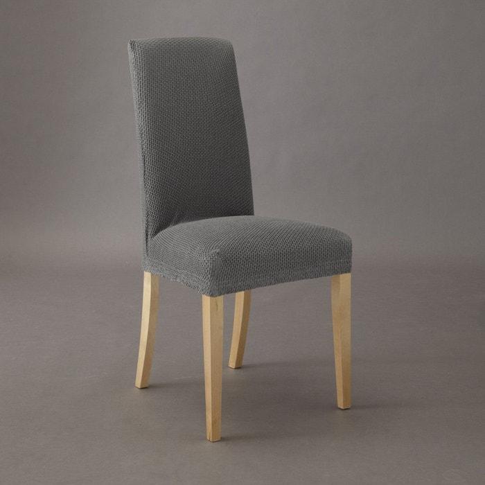 Housse extensible pour chaise gaufrée ahmis La Redoute