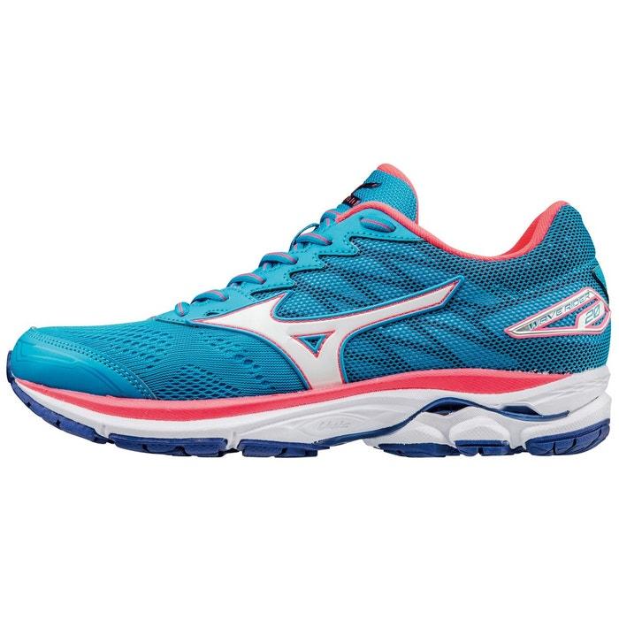 Wave rider 20 chaussures de running bleu bleu Mizuno